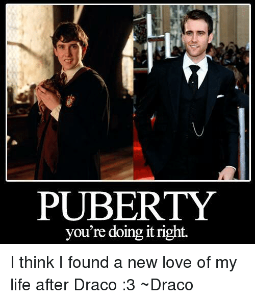 Neville longbottom puberty youre doing it right