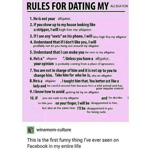 Internet dating rules