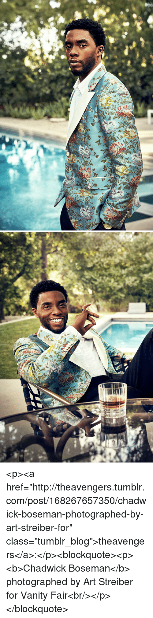 "vanity fair: <p><a href=""http://theavengers.tumblr.com/post/168267657350/chadwick-boseman-photographed-by-art-streiber-for"" class=""tumblr_blog"">theavengers</a>:</p><blockquote><p><b>Chadwick Boseman</b> photographed by Art Streiber for Vanity Fair<br/></p></blockquote>"