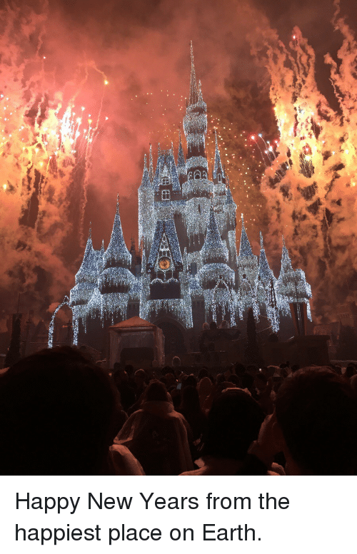 Happy New Years: <p>Happy New Years from the happiest place on Earth.</p>