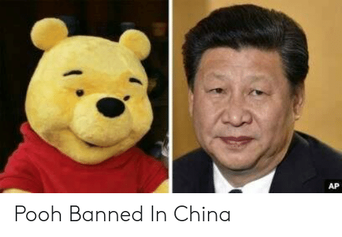 pooh: АP Pooh Banned In China