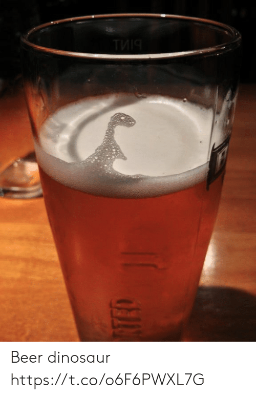 Beer, Dinosaur, and Faces-In-Things: ТИЧ Beer dinosaur https://t.co/o6F6PWXL7G