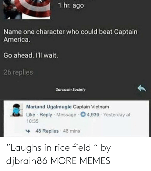 """rice: """"Laughs in rice field """" by djbrain86 MORE MEMES"""