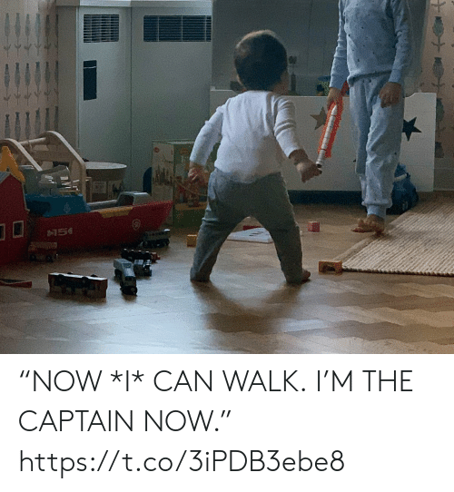 """The Captain: """"NOW *I* CAN WALK. I'M THE CAPTAIN NOW."""" https://t.co/3iPDB3ebe8"""