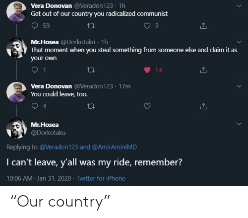 "country: ""Our country"""