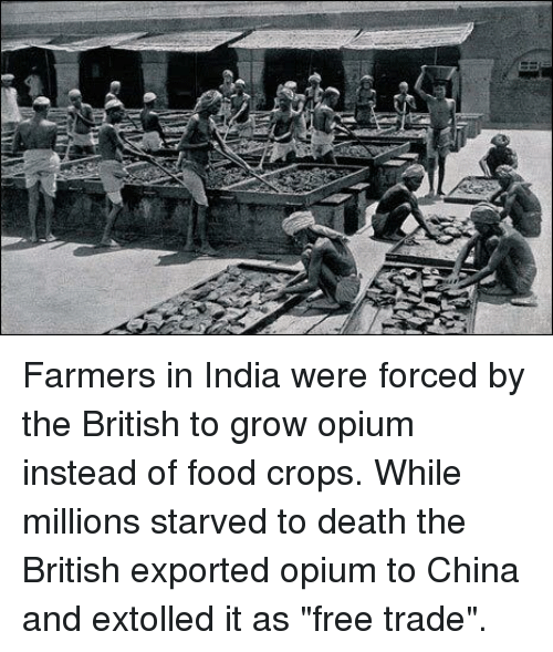 the results of the british opium trade for china