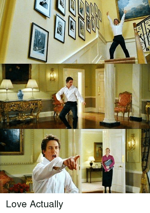 Memes, Love Actually, and 🤖: 医ー7ーーーー  ーーー Love Actually