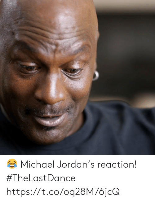 Michael: 😂 Michael Jordan's reaction! #TheLastDance https://t.co/oq28M76jcQ