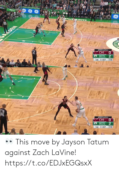 move: 👀 This move by Jayson Tatum against Zach LaVine!   https://t.co/EDJxEGQsxX