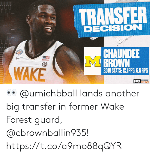 wake: 👀 @umichbball lands another big transfer in former Wake Forest guard, @cbrownballin935! https://t.co/a9mo88qQYR