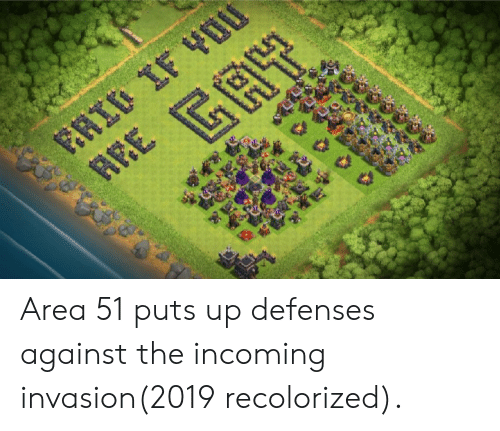 0IF AEE GA Area 51 Puts Up Defenses Against the Incoming