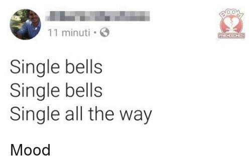 bells: 11 minuti  Single bells  Single bells  Single all the way Mood