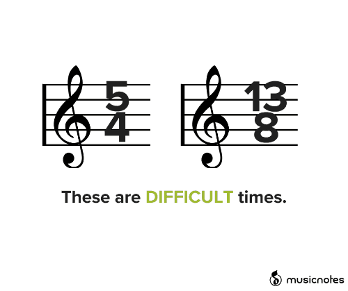 difficult: 13  These are DIFFICULT times.  musicnotes  LOST