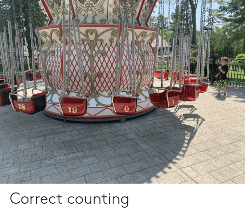 Counting and Correct: 18  19 Correct counting