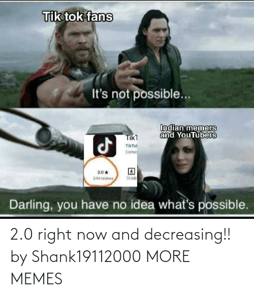 right now: 2.0 right now and decreasing!! by Shank19112000 MORE MEMES