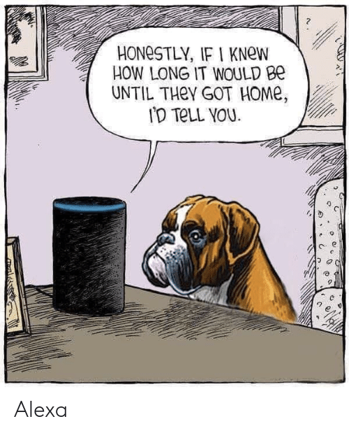 Home, How, and Got: 2  HONeSTLY, IF I KNew  HOW LONG IT WOULD Be  UNTIL THeY GOT HOMe Alexa