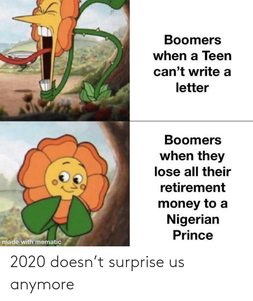 surprise: 2020 doesn't surprise us anymore