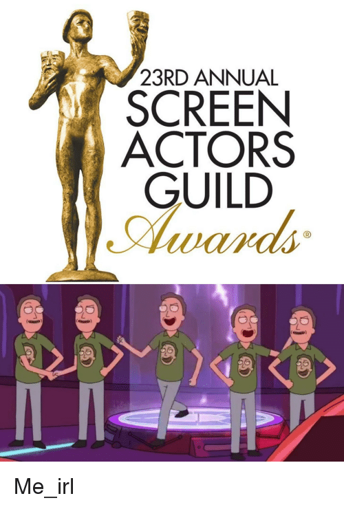 23rd Annual Screen Actors Guild Irl Meme On Conservative Memes