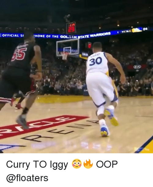 Memes, Iggy, and 🤖: 24  OFFICIAL S  MONE OF THE GOLESTAT  na  30 Curry TO Iggy 😳🔥 OOP @floaters