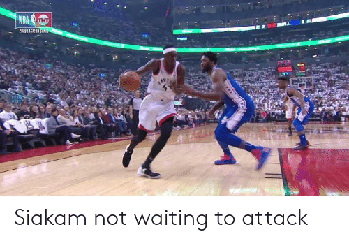 Waiting..., Attack, and Not: 2819 EASTERN Siakam not waiting to attack