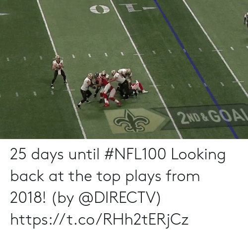 Memes, DirecTV, and Goal: 2ND&GOAL 25 days until #NFL100  Looking back at the top plays from 2018! (by @DIRECTV) https://t.co/RHh2tERjCz