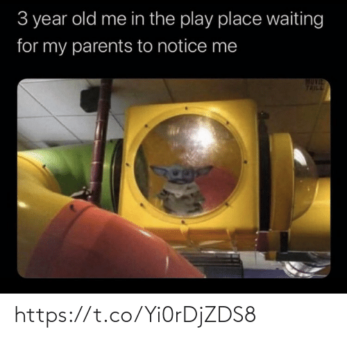 play: 3 year old me in the play place waiting  for my parents to notice me  TAILL https://t.co/Yi0rDjZDS8
