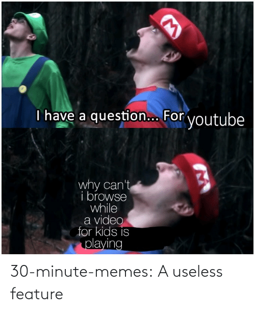 minute: 30-minute-memes:  A useless feature