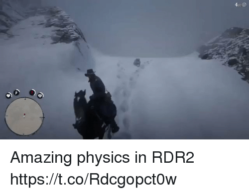 Rdr2: 4 Amazing physics in RDR2 https://t.co/Rdcgopct0w