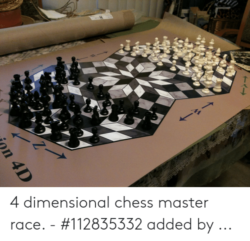 Four Dimensional Chess: 4 dimensional chess master race. - #112835332 added by ...