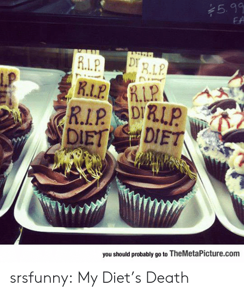 Diets: 5.99  EA  ERLP  R.L.P  Lp  R İ.LPA  you should probably go to TheMetaPicture.com srsfunny:  My Diet's Death