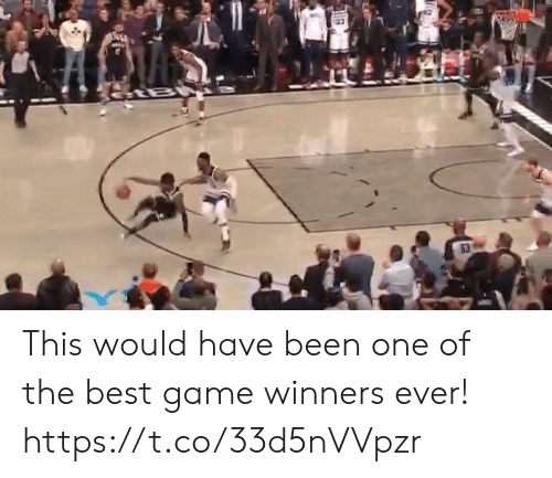 one of the best: 53 This would have been one of the best game winners ever! https://t.co/33d5nVVpzr