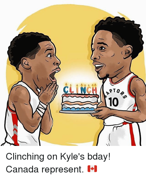 Ã……Ã…': 6 A A  PTO  10 Clinching on Kyle's bday! Canada represent. 🇨🇦