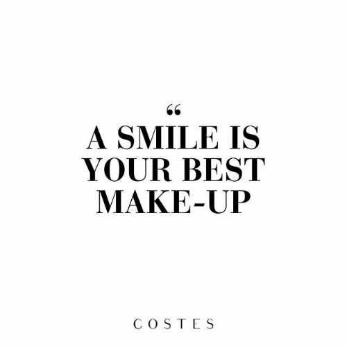 Best, Smile, and Make: 66  A SMILE IS  YOUR BEST  MAKE-UP  COSTES