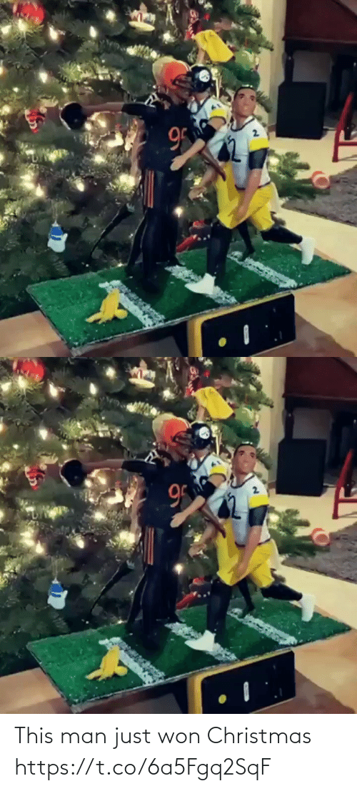 Christmas, Football, and Nfl: 95  2.   95 This man just won Christmas https://t.co/6a5Fgq2SqF