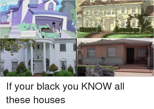 The Proud Family: @DooleyFunnyAf   If your black you KNOW all these houses If your black you KNOW all these houses