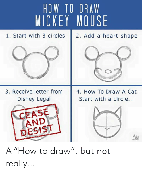"not really: A ""How to draw"", but not really…"