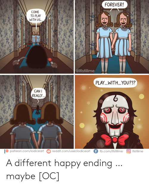 Ending: A different happy ending … maybe [OC]
