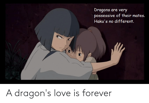 Love Is: A dragon's love is forever
