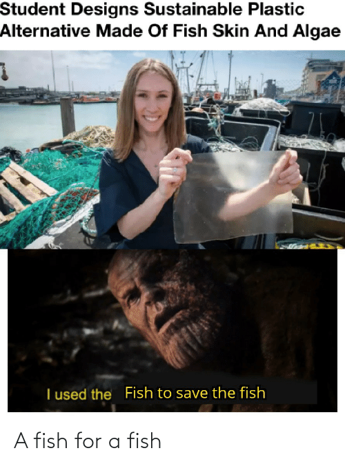 for: A fish for a fish