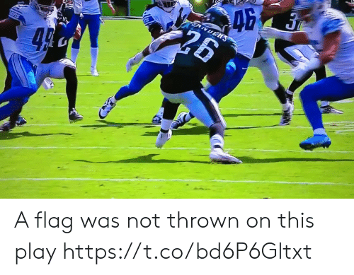 Football, Nfl, and Sports: A flag was not thrown on this play  https://t.co/bd6P6Gltxt