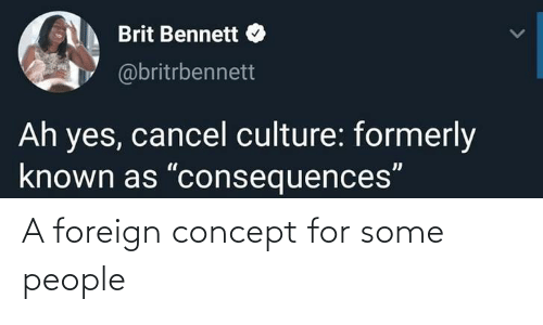 Some: A foreign concept for some people