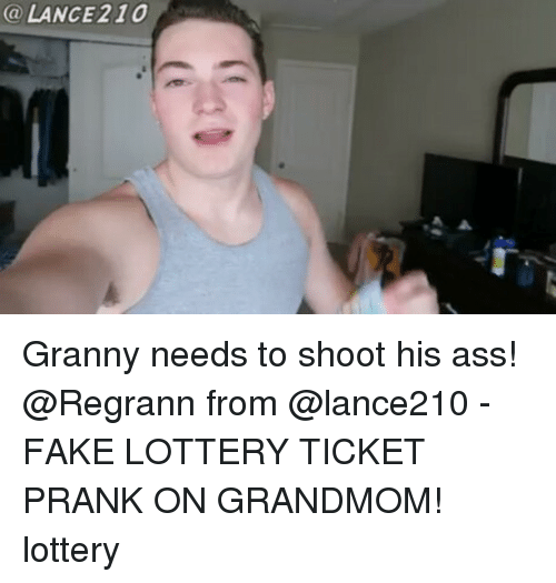 24ca7a06a7 🦅 25+ Best Memes About Fake Lottery Tickets Prank