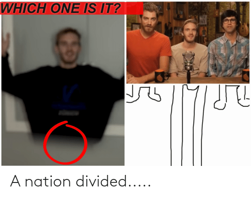 Divided: A nation divided.....