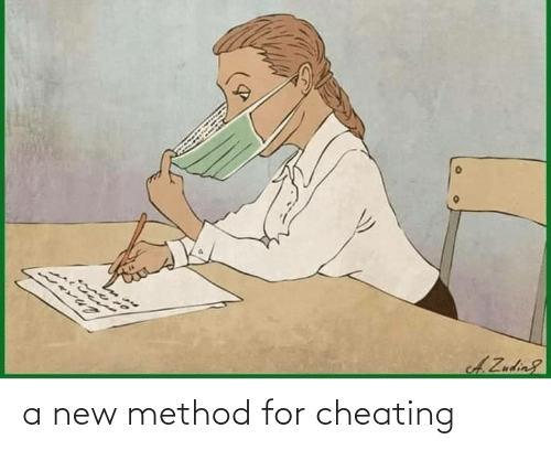 Cheating: a new method for cheating