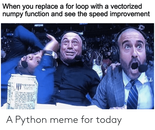 python: A Python meme for today