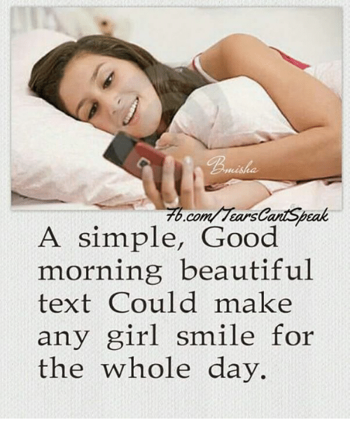 25 Best Memes About Good Morning Beautiful Text Good Morning