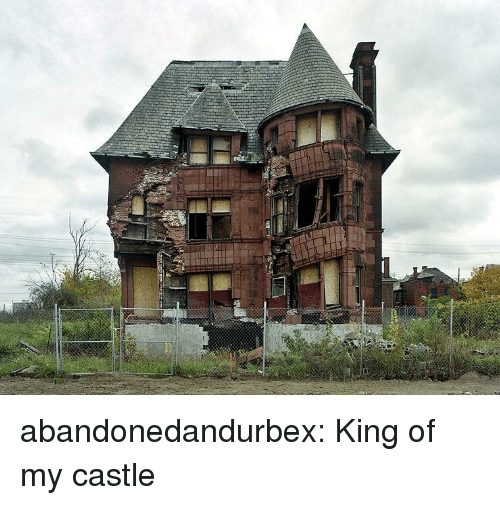 Tumblr, Blog, and Castle: abandonedandurbex:  King of my castle