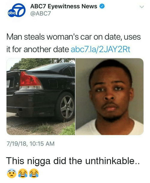 Abc Memes And News ABC7 Eyewitness Man Steals Womans