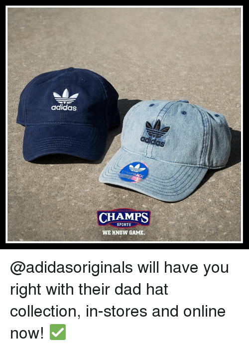 01697dba1c5 Adidas CHAMPS SPORTS WE KNOW GAME Will Have You Right With Their Dad ...