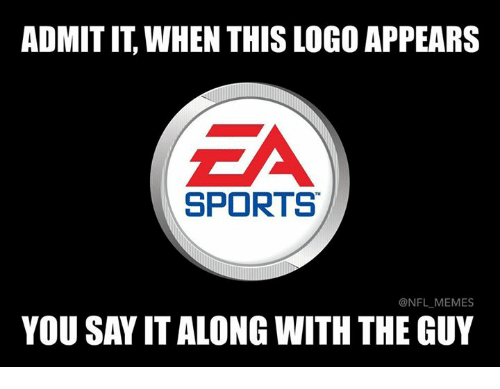 Admittingly: ADMIT IT, WHEN THIS LOGO APPEARS  SPORTS  @NFL MEMES  YOU SAY IT ALONG WITH THE GUY